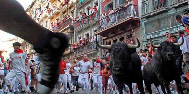 Los-Sanfermines---Pamplona