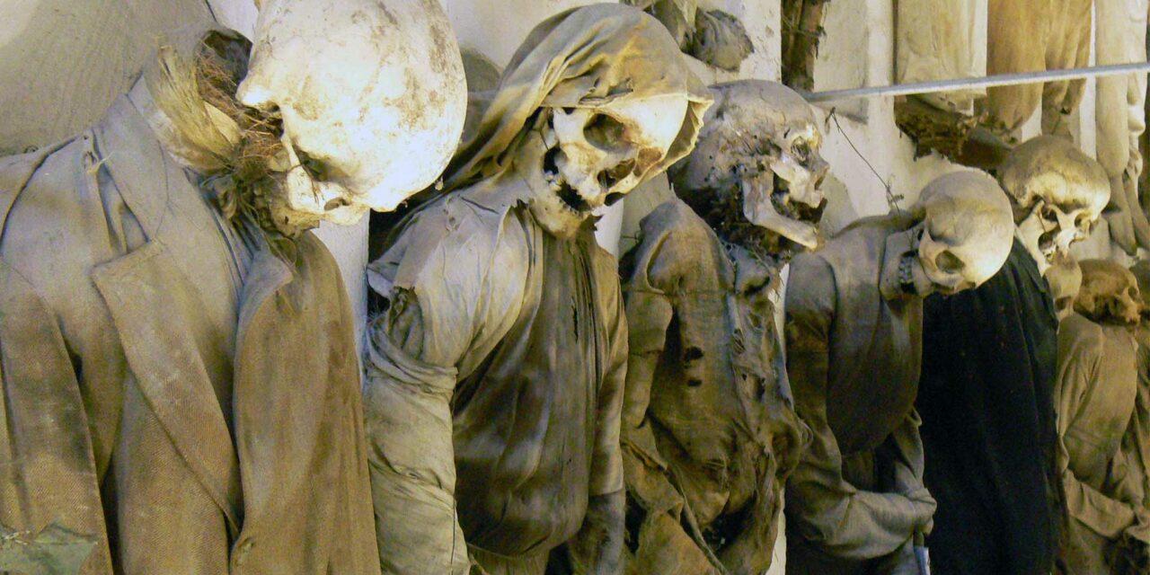 Las espeluznantes Catacumbas de Palermo