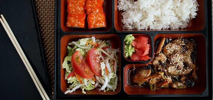Platos tipicos de Japon, Bento