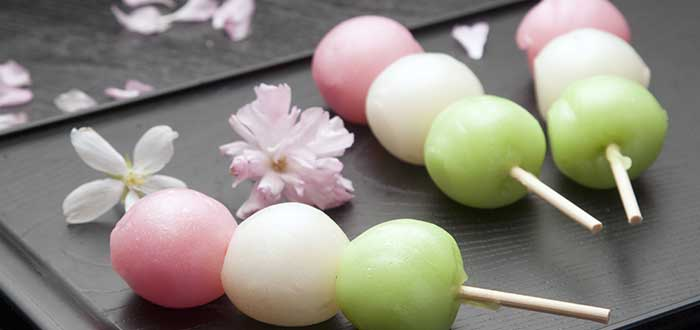 Platos tipicos de Japon, Dango