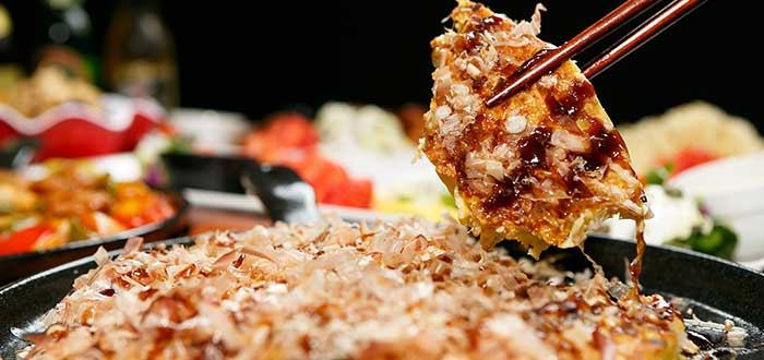 Platos tipicos de Japon, Okonomiyaki