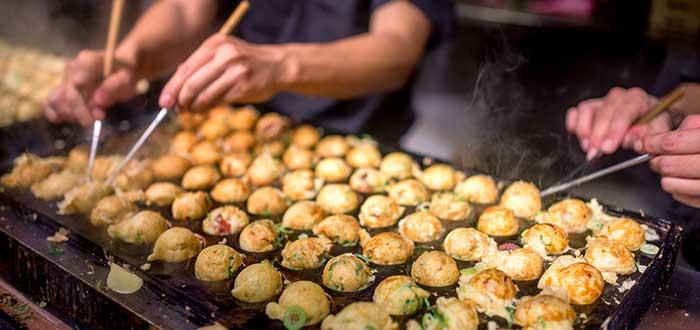 Platos tipicos de Japon, Takoyaki