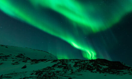 La mágica aurora boreal