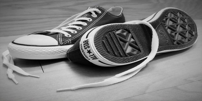 no pienses en el calzado