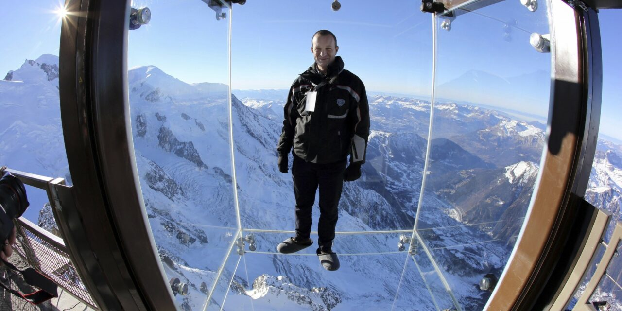 Flotar en las alturas: Aguille du Midi