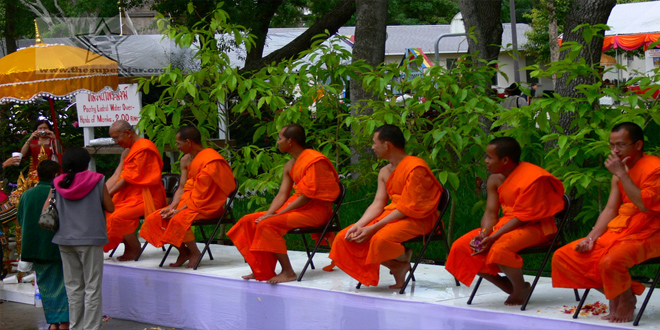 Festival del Agua de Songkran