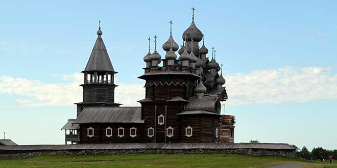 Kizhi Pogost iglesia de la intercesion