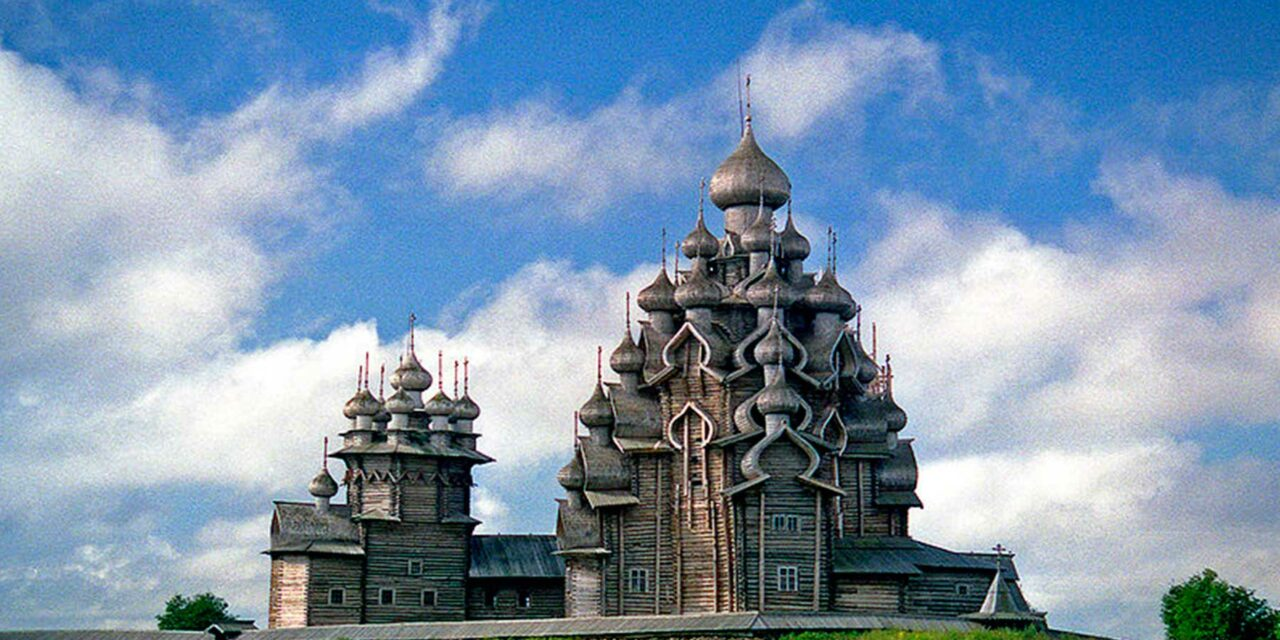 Kizhi Pogost: maravilloso arte en arte en madera