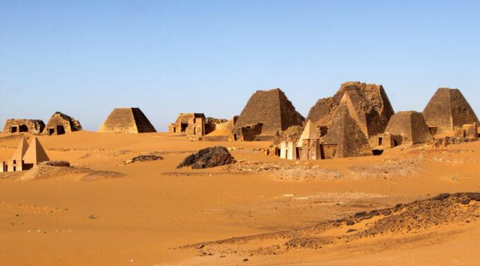 Las desconocidas pirámides de Meroe
