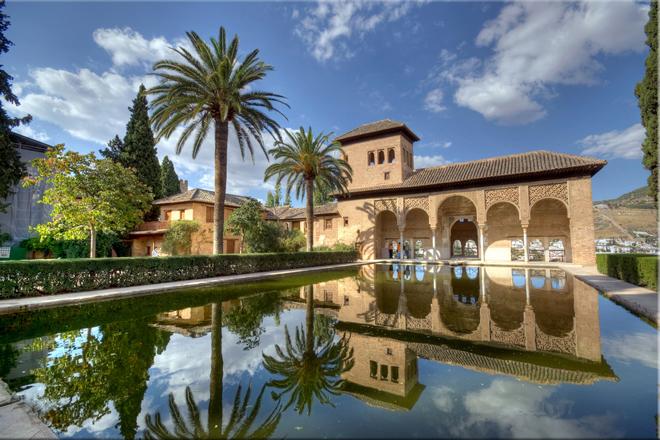 La alhambra ciudad medieval nazar el viajero feliz for Jardines nazaries