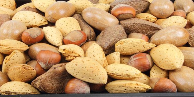 frutos secos para el jet-lag