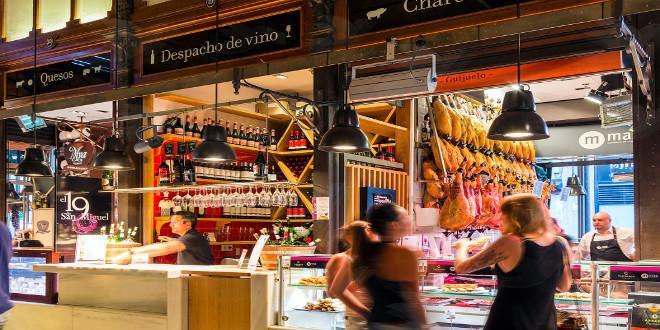 Los mercados de las capitales españolas