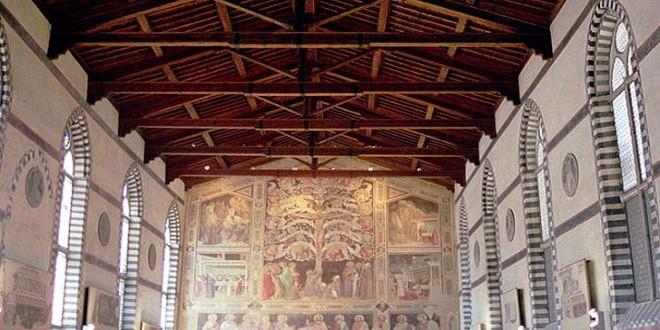 Lo que la basílica de Santa Cruz en Florencia esconde
