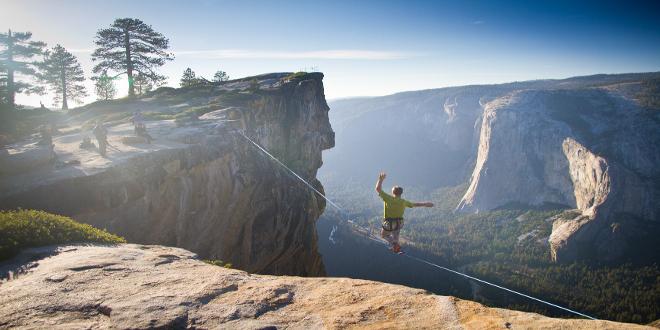 El parque nacional Yosemite en California