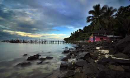 Las islas Perthenian: paraíso en Malasia