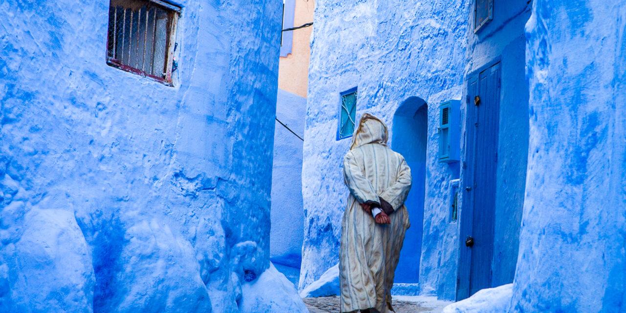 La ciudad azul de Chefchauen