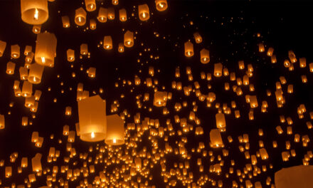 Las linternas flotantes de Tailandia