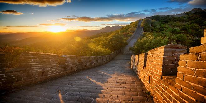 La muralla china como nunca antes la habías visto