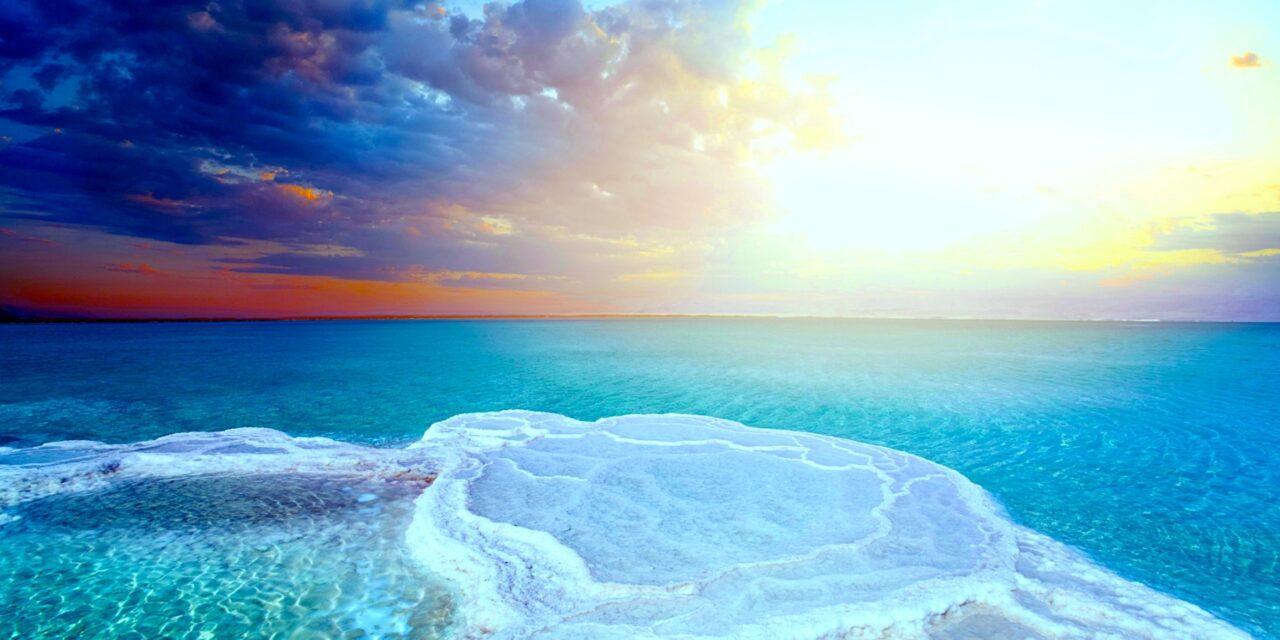 El Mar Muerto: caminar sobre las aguas