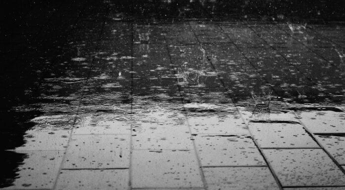 viajar con lluvia