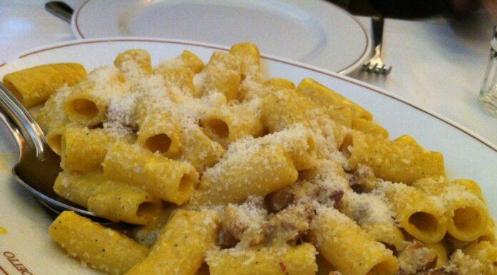 Pasta carbonara - Tour en Roma