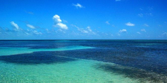Arrecifes en Belice