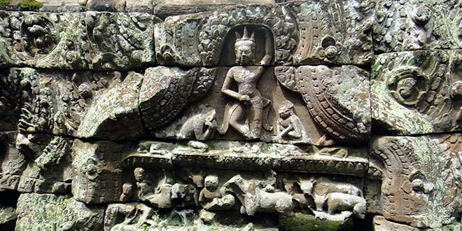 Bajorrelieve-Angkor-Wat