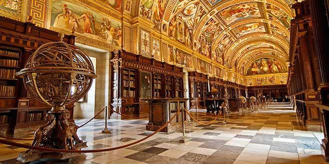 Biblioteca-del-El-Escorial