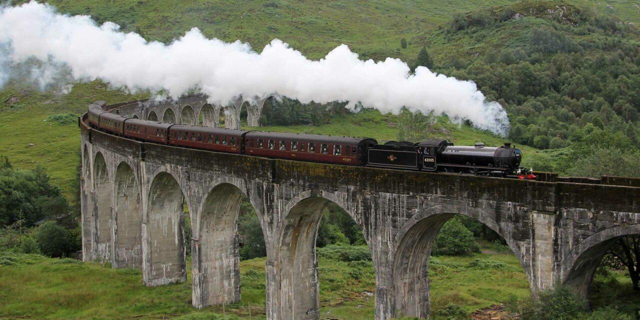 Jacobite, un maravilloso viaje en tren por Escocia