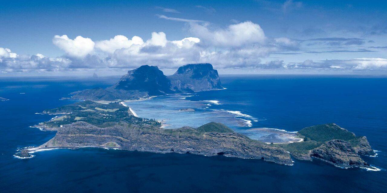 La isla de Howe, un paraíso virgen