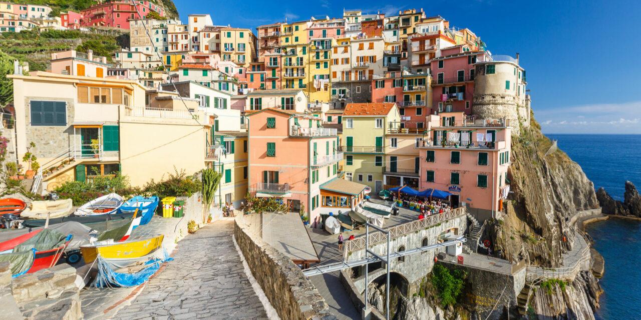 La hermosa Riviera italiana