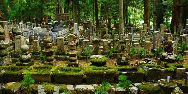 Okunoin-cementerio