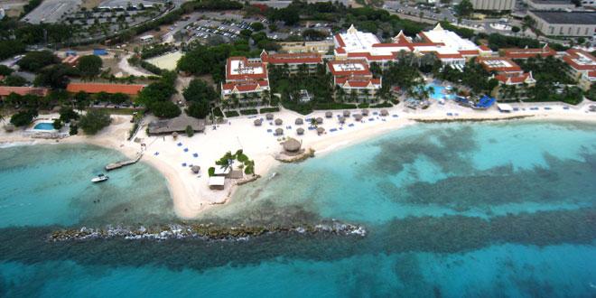 Vista aérea Curaçao