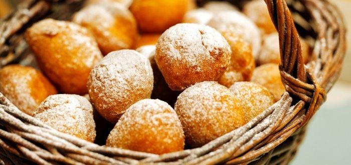 Comida típica de Coracia: Fritule
