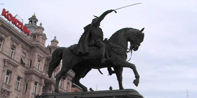 Estatuas en Zagreb Croacia