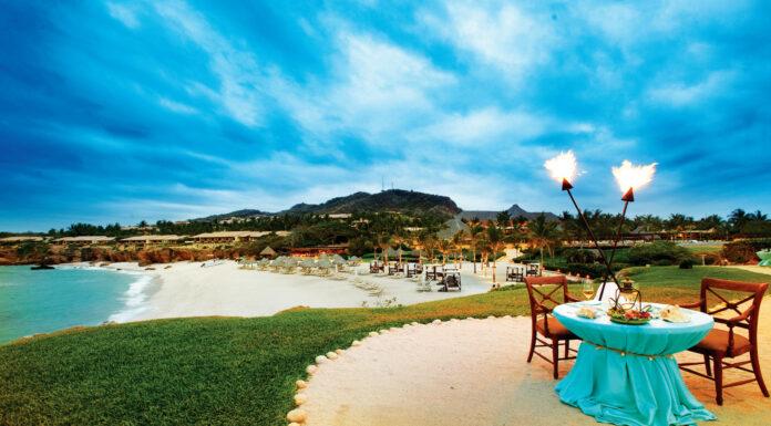 Playas de oro en la Riviera de Nayarit en México