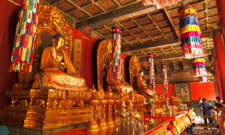 El impresionante Templo de los Lamas en Pekín