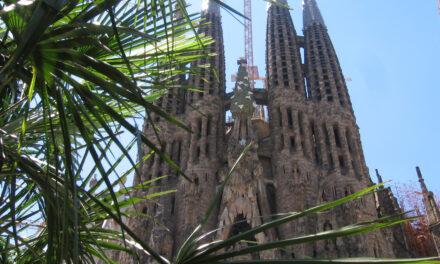 La impresionante Sagrada Familia en Barcelona