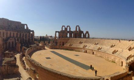El Anfiteatro romano de Djem, en Túnez