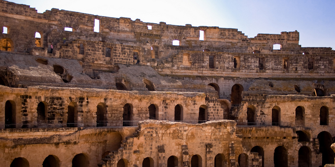 Djem amphitheatre1