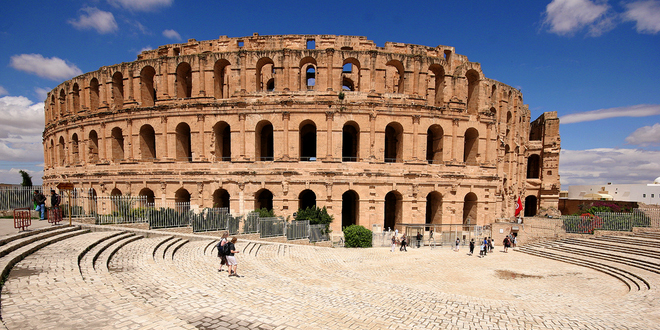 Djem amphitheatre3