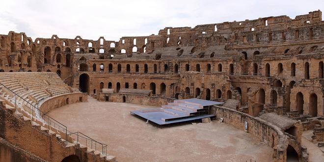 Djem amphitheatre4