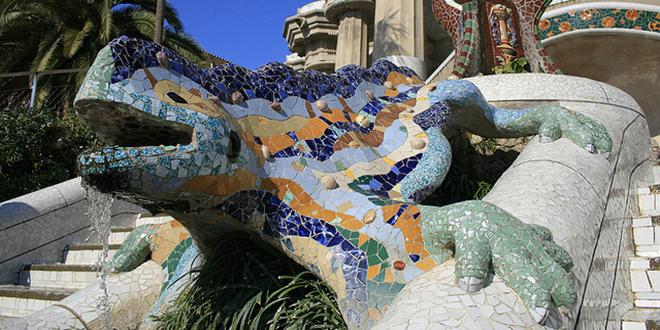 Dragón de Gaudí