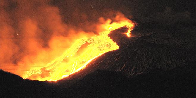 Volcán Etna, isla de Sicilia, Italia.