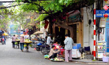 Hanoi, reminiscencia de la verdadera Asia