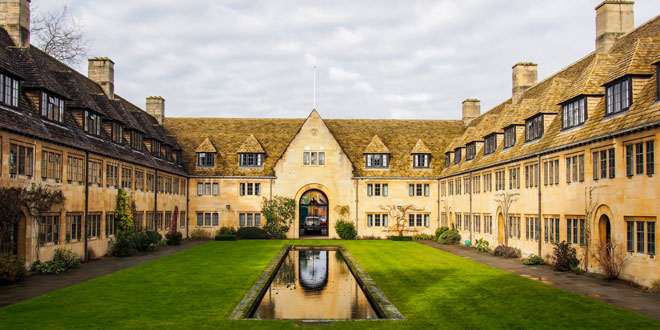 Nuffield College in Oxford