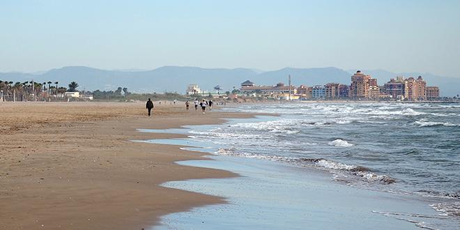 Playa Patacona, Valencia