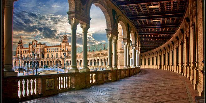 Plaza España, Sevilla.