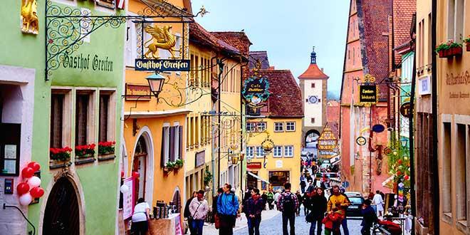 Rothemburg-calles