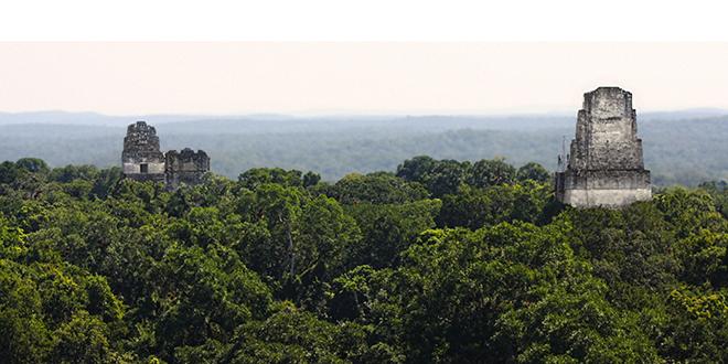 Tikal, en Guatemala.